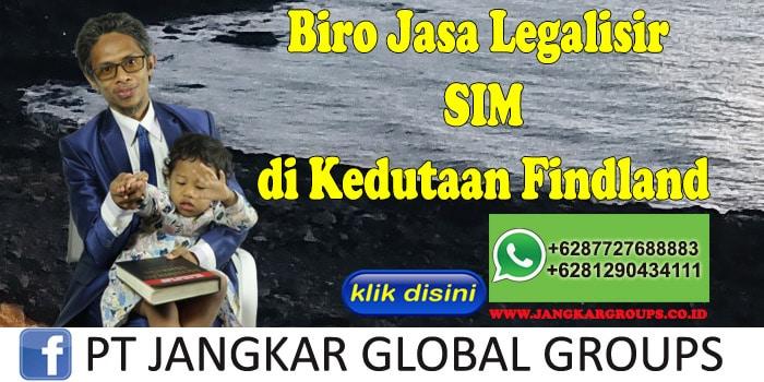 Biro Jasa Legalisir SIM di Kedutaan Findland