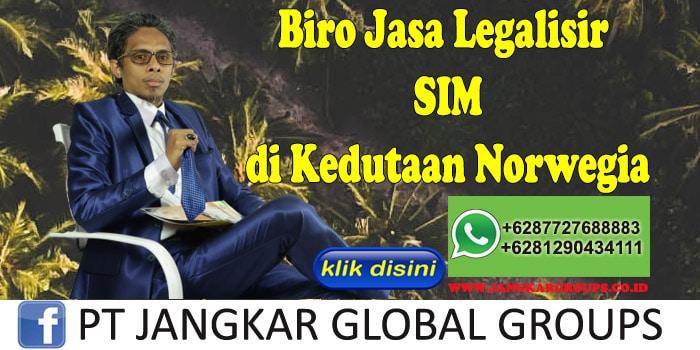 Biro Jasa Legalisir SIM di Kedutaan Norwegia