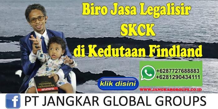 Biro Jasa Legalisir SKCK di Kedutaan Findland