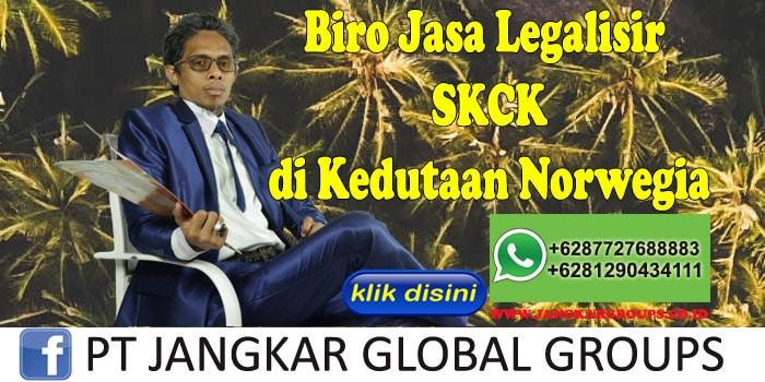 Biro Jasa Legalisir SKCK di Kedutaan Norwegia