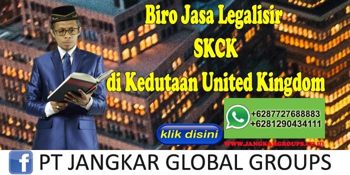 Biro Jasa Legalisir SKCK di Kedutaan United Kingdom
