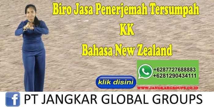 Biro Jasa Penerjemah Tersumpah KK Bahasa New Zealand