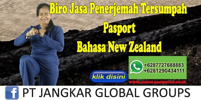 Biro Jasa Penerjemah Tersumpah Pasport Bahasa New Zealand