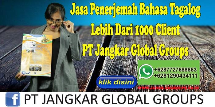 Jasa Penerjemah Bahasa Tagalog Lebih Dari 1000 Client PT Jangkar Global Groups