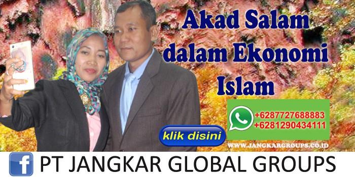 Akad salam dalam ekonomi islam