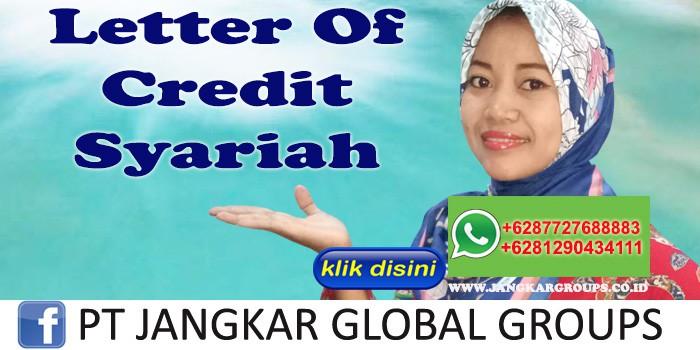 Letter Of Credit Syariah