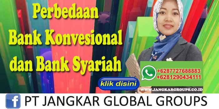Perbedaan Bank Konvesional dan Bank Syariah