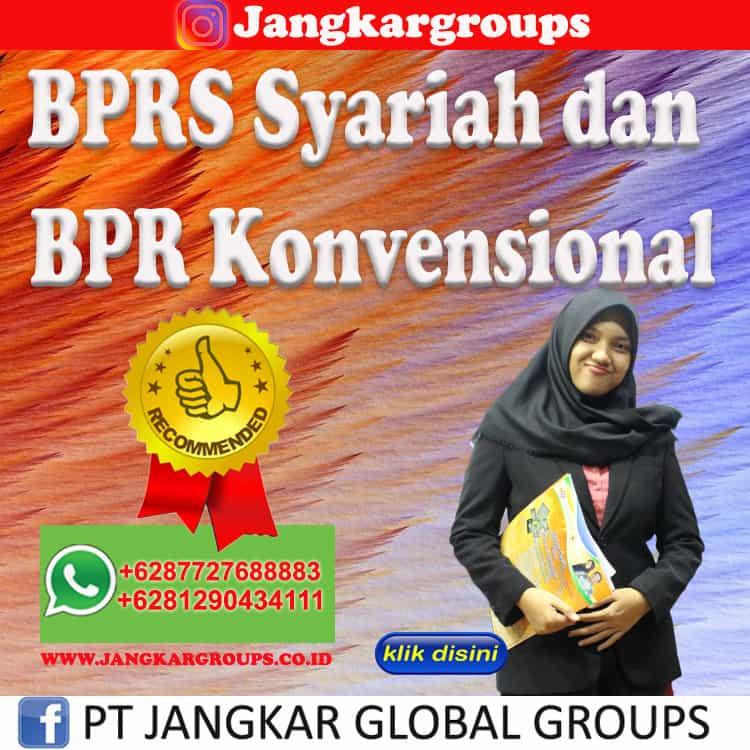 BPRS Syariah dan BPR Konvensional
