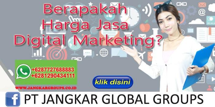 Berapakah Harga Jasa Digital Marketing-