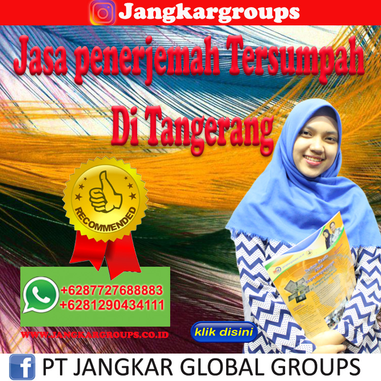 Jasa penerjemah Tersumpah Di Tangerang