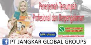 Penerjemah Tersumpah Profesional dan Berpengalaman