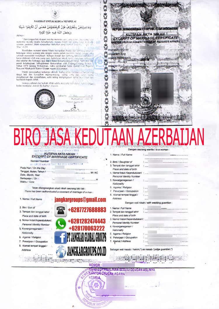 Biro jasa kedutaan azerbaijan